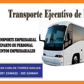 Transporte Empresarial Y Eventos