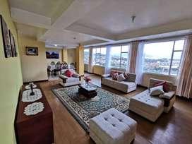 Departamento Amoblado · 225 m² · 4 Habitaciones · 2 1/2 Baños