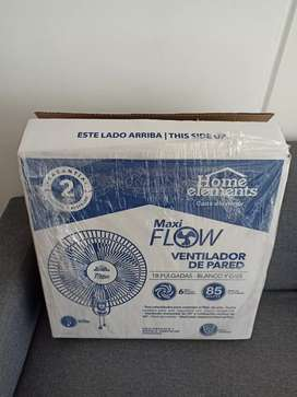 Vendo excelente ventilador Home Elements 18""