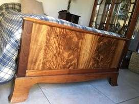 Cama de madera estilo inglés de una plaza a muy buen precio!!
