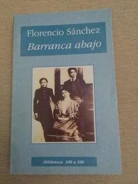 BARRANCA ABAJO . FLORENCIO SANCHEZ LIBRO DRAMA BIBLIOTECA 100x100