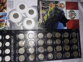 Monedas de colección.