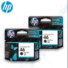 Cartucho Hewlett Packard 46 Negro