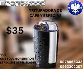 TRITURADORA DE CAFÈ Y ESPECIAS BRENTWOOD