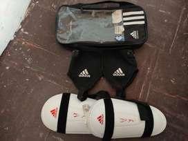 Canilleras tobilleras  Adidas talla L usadas