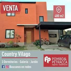 VENTA CASA COUNTRY VILAGO