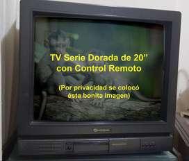 "TV 20"" Serie Dorada"