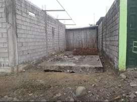 Terreno de 10x20 con construcción
