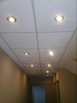 instalacion colocacion spot dicroicas led iluminacion tubos led reflectores led luminarias led tiras led