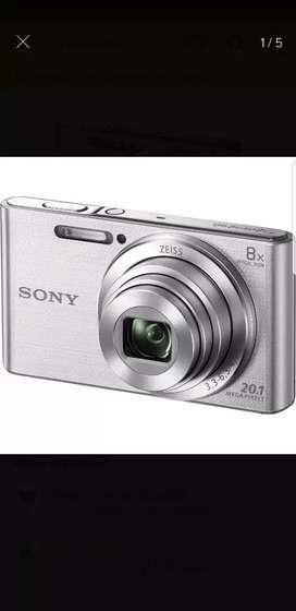Cámara de fotos Sony 20.1 Megapixeles ×8 xoom