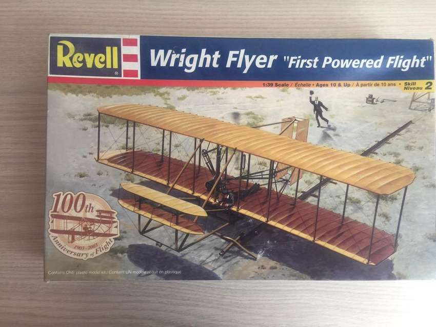 "Revell Wright Flyer ""First Powered Flight"" 0"