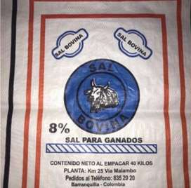Sal bovina proteinizada 8%