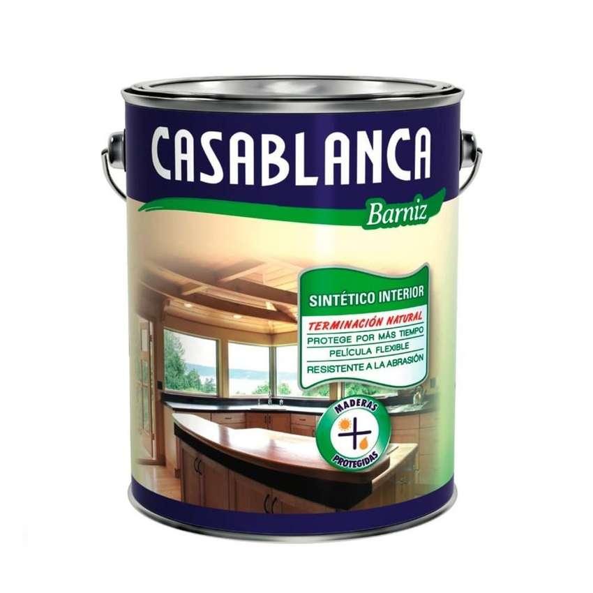 Barniz Interior Brillante Casablanca 4 Lts. 0
