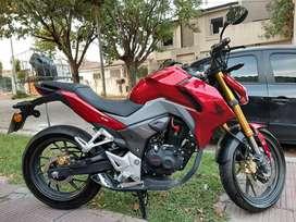 Vendo Honda CB190r Año 2019