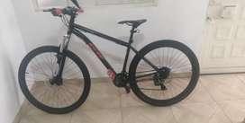Vendo  bicicleta marco de aluminio  mtb rin 29