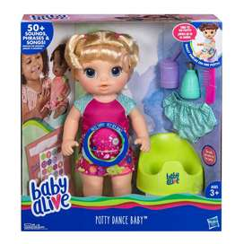 Baby Alive Potty Dance Talking Baby Doll