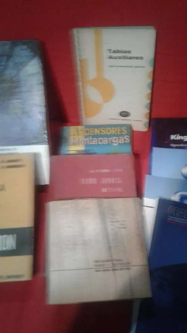 Lote libros electronica