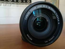 Lente Canon EFs 18-135mm 3.5-5.6 Is Stm