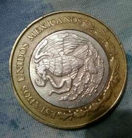 Vendo moneda de diez pesos antiguos