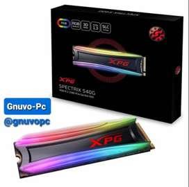 Ssd Estado Solido M.2 m2 Pcie Nvme 512GB XPG Spectrix S40G 512 GB RGB 3500 MB/S