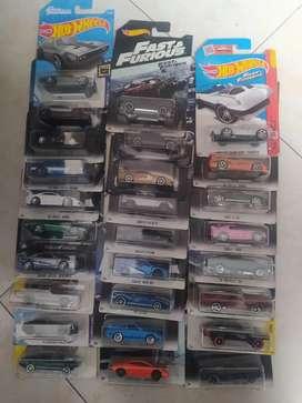Colección hot wheels rápidos y furiosos se vende completa no por separado
