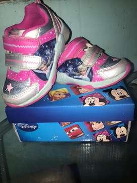 zapatos para niña talla 26 marca disney