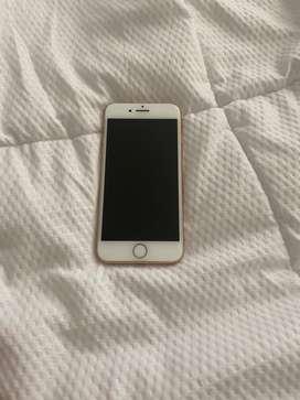 Venta de Iphone 8 rosado 64 G en perfecto estado
