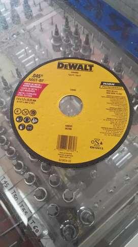 "Disco de Corte Fino Dewalt 4 1/2"""