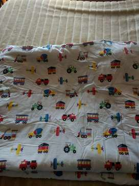 2 acolchados para camas single para niños