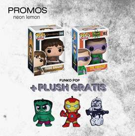 Funko pop + peluche plush de regalo