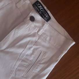 Pantalon bengalina blanco 36