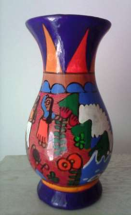 Florero de Ceramica Mexicano