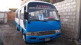 Bus de la ruta 07 con cupo