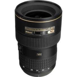 Lente Nikon AF-S NIKKOR 16-35MM F/4G ED VR