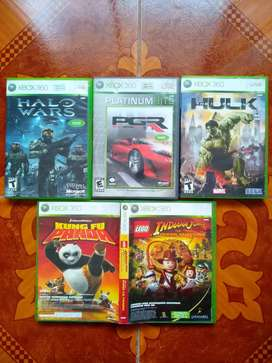Pack de juegos originales (5) - Xbox 360