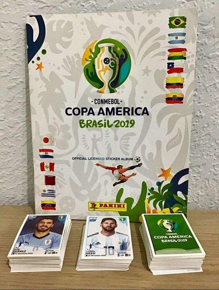 SE VENDE SET COMPLETO MAS ALBUM Y SUELTAS COPA AMERICA BRASIL 2019 0