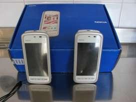 Vendo 2 Celulares Nokia 5230 P/Reparar o Repuesto.
