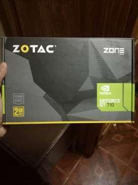 Vendo Placa de video GT 710 2GB DDR3