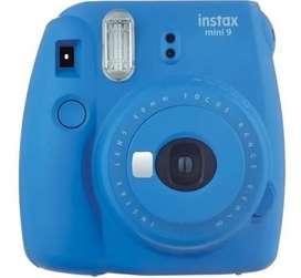 Cámara Instax Mini 9 Azul Cobalto