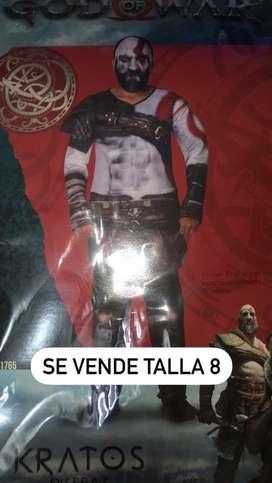 Disfraz de Dios se la guerra (kratos)