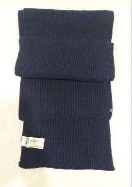 Bufanda, azul oscura, marca GAP