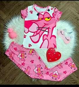 Pijamas piel durazno