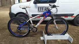 Hermosa Bicicleta Rin 26 en Aluminio GW