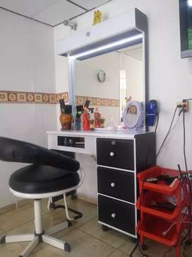 Entable de peluquería