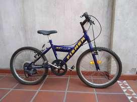 Bicicleta Fischer Rodado 24, 5 cambios