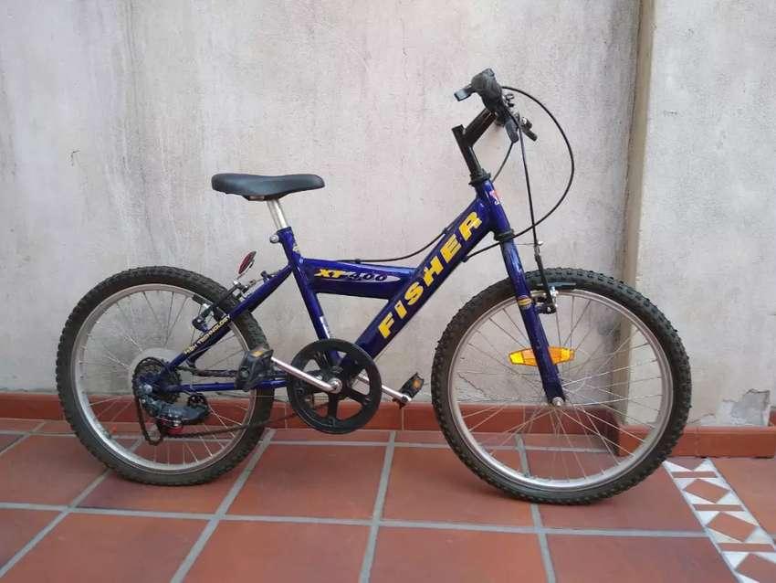 Bicicleta Fischer Rodado 24, 5 cambios 0