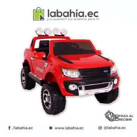 Carro a Bateria tipo jeep color rojo