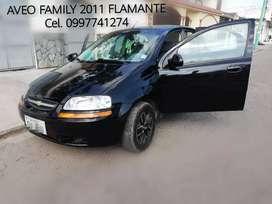 Aveo  Family 2011 Flamante