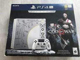 Play 4 pro 1tb edición God of war 4