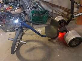 Cambio por bici  o vendo triciclo de drift